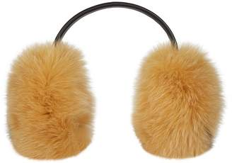Anya Hindmarch Smiley Face Fox Earmuffs