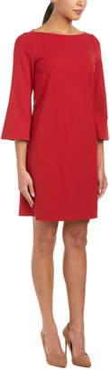 Lafayette 148 New York Wool-Blend Shift Dress