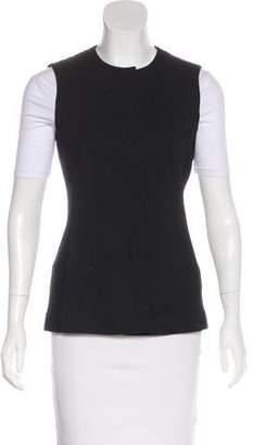 Akris Punto Wool-Blend Button-Up Vest