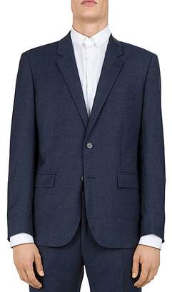 The Kooples Sea Checks Wool Slim Fit Sport Coat
