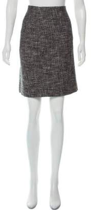 Theory Tweed Knee-Length Skirt