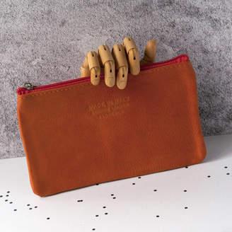 3ffa49a847b Grace   Valour Soft Italian Leather Colourful Zip Up Carry Purse