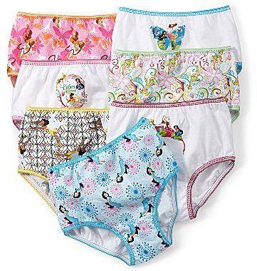 Tinkerbell 7-pk. Panties - Girls 2t-4t