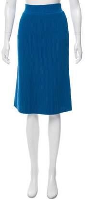 Calvin Klein Collection Knee-Length Knit Skirt