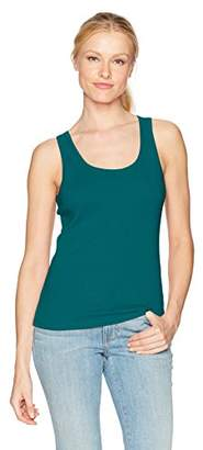 Three Dots Women's Heritage Rib Rocker Tank