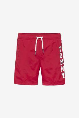 Tommy Hilfiger Boys Boys Branded Red Swim Shorts - Red