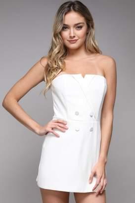 Do & Be Tuxedo Mini Dress