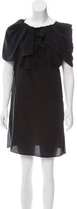 Vionnet Silk Mini Dress