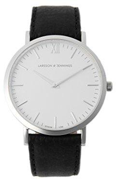 Demi-Luxe BEAMS (デミルクス ビームス) - (デミルクスビームス) Demi-Luxe BEAMS LARSSON&JENNINGS (ラーソンアンドジェニングス) / LADER ストラップ 腕時計 64480016191 ONE SIZE ホワイト×シルバー