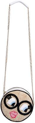Simonetta Straw Effect Shoulder Bag