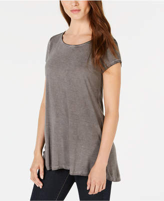 Bar III Strappy-Back T-Shirt, Created for Macy's