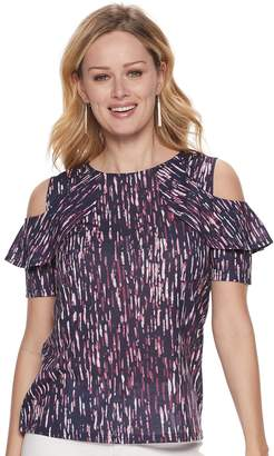 Juicy Couture Women's Ruffle-Shoulder Top