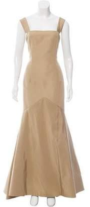 Oscar de la Renta Silk Evening Dress w/ Tags