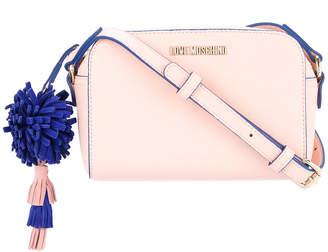 Love Moschino pompom-detail crossbody bag