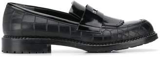 Loriblu fringe detail loafers