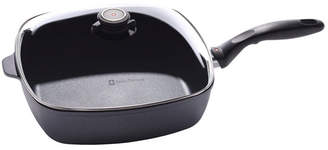 "Swiss Diamond HD Induction Square Saute Pan with Lid - 11"" x 11"" , 5.3 QT"
