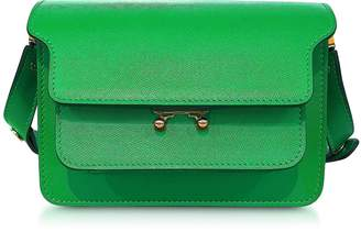 Marni Saffiano Leather Mini Trunk Bag