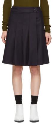 A.P.C. Navy Hortense Miniskirt