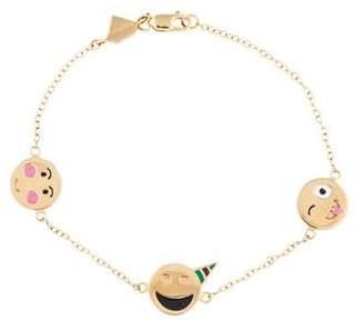 Alison Lou 14K Celebration Bracelet