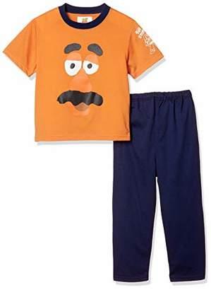 Disney (ディズニー) - [ディズニー] ポテトヘッド天竺パジャマ半袖長ズボン 371104401 ブラウン 日本 100 (日本サイズ100 相当)