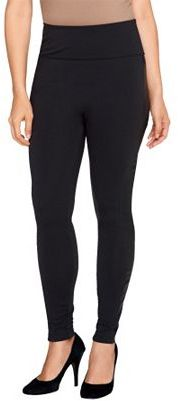 Assets Red Hot Label by Spanx Faux Leather Side Shaping Leggings $43.52 thestylecure.com