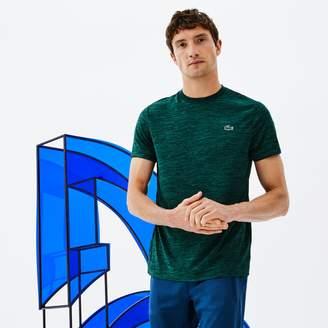 Lacoste Men's SPORT Tennis Crew Neck Tech Jersey & Mesh T-shirt