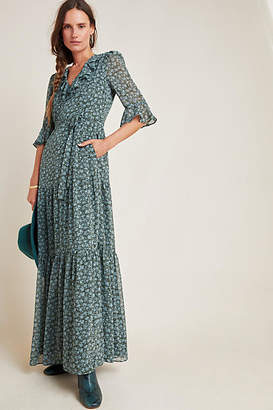 Gal Meets Glam Roberta Ruffled Maxi Dress