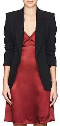 L'Agence Women's Chamberlain Stretch-Jersey Blazer - Black