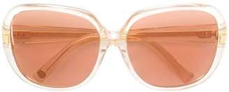Dita Eyewear square tinted sunglasses