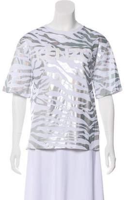 Kenzo Zebra Print T-Shirt