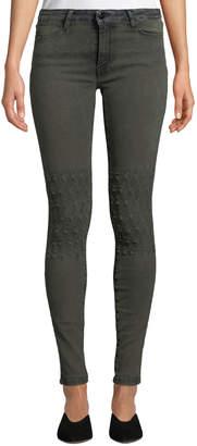 Brockenbow Emma Distressed Skinny Jeans, Black