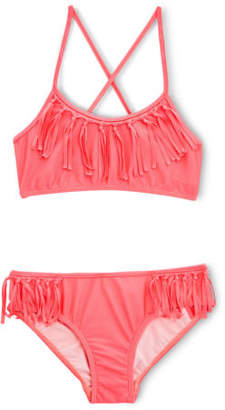 Seafolly NEW Fringe Tankini Coral