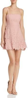Fame & Partners Fiona Lace Mini Dress - 100% Exclusive