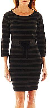 R&K Originals® Drawstring Sweater Dress