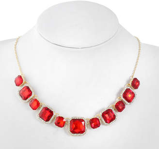 MONET JEWELRY Monet Jewelry Womens Red Collar Necklace