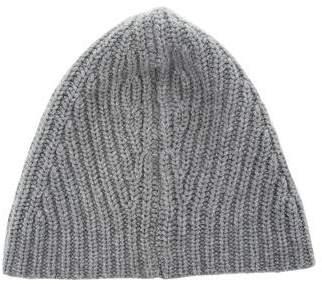 Magaschoni Rib Knit Cashmere Beanie
