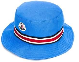 Moncler stripe band sun hat