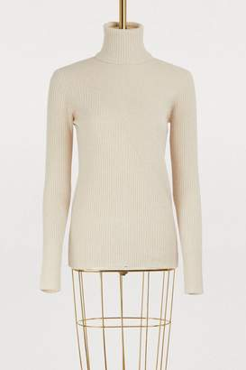 Roberto Collina Turtleneck sweater with rotating seams