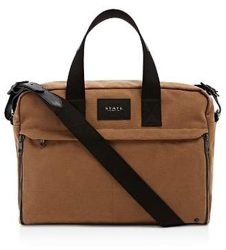 STATE Canvas Preson Brief Messenger Bag