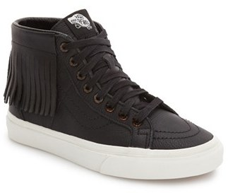 Women's Vans Sk8-Hi Moc Sneaker $89.95 thestylecure.com