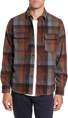 Jeremiah Heath Brushed Flannel Shirt