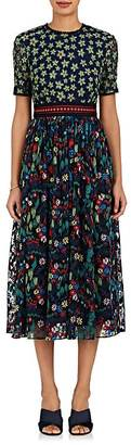 Saloni SALONI WOMEN'S JACKIE FLORAL MAXI DRESS $795 thestylecure.com