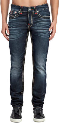 True Religion MENS SUPER T SKINNY JEAN W/ FLAP