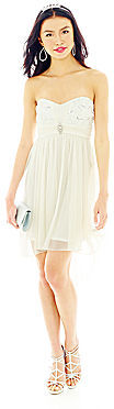 JCPenney BY AND BY by & by High-Low Strapless Dress