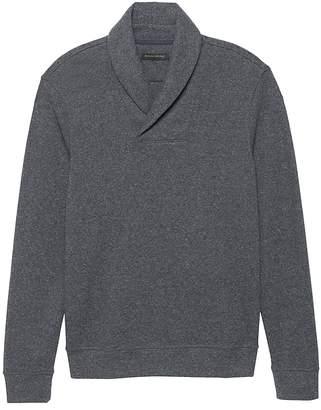 Banana Republic Shawl-Collar Sweatshirt