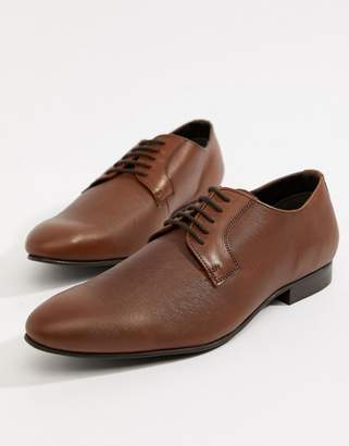Dune Saffiano Shoes In Tan Leather