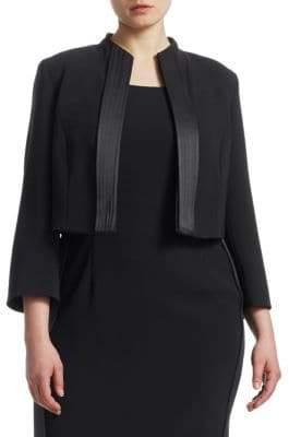Marina Rinaldi Marina Rinaldi, Plus Size Open Front Jacket