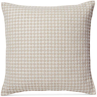 "Hotel Collection Diamond Embroidered 22"" x 22"" Decorative Pillow Bedding"