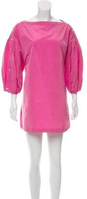 Rachel Comey Silk-Blend Mini Dress