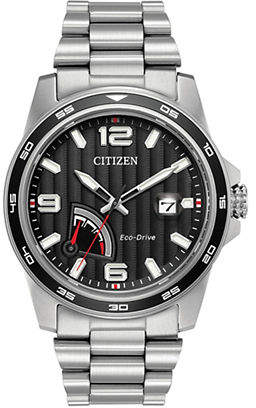 Citizen Eco-Drive Power Reserve Stainless Steel Bracelet Watch